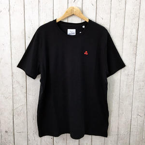☆8bitデザインの刺繍Tシャツ☆BRICKTOWN【ブリックタウン】S/S TEE  CHERRY BLACK