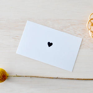 messagecard ★ petit coeur  30枚