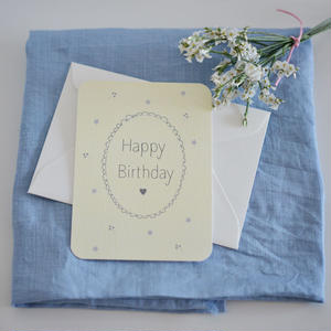 ミニカード♡ Happy Birthday ♡ 3枚セット