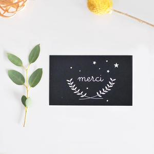 M-18 messagecard ★ merci  30枚