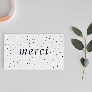 M-22 messagecard ★ merci  30枚