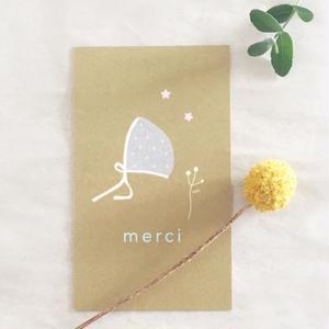 M-31 messagecard ★ Bonnet 30枚