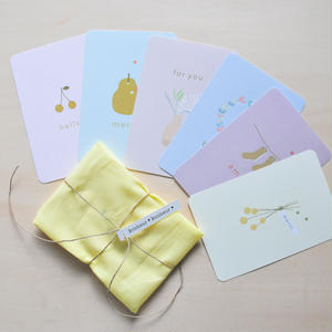 postcard ♡ petite illustration 6種 (計6枚セット)