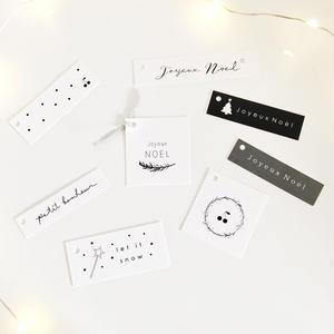 N-20 Noël ★ mini tag  set 24枚
