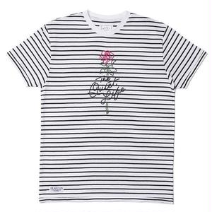 THE QUIET LIFE STRIPE ROSE TSHIRTS