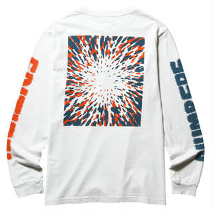 NUMBERS EDITION 12:45 SWIRL-L/S T-SHIRT WHITE