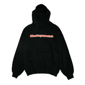 BLACK EYE PATCH LOGO HOODIE BLACK