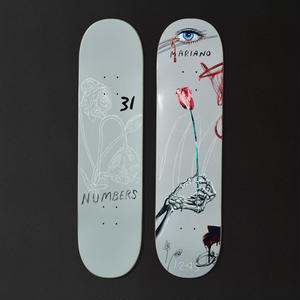 NUMBERS EDITION  MARIANO EDITION 5   DECK 8.1INCH