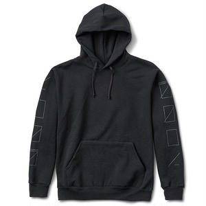 Numbers Edition 3M ASSEMBLY FLEECE PULLOVER BLACK