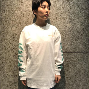 CHOCOLATE SKATEBOARDS TROPICALIA L/S TEE WHITE