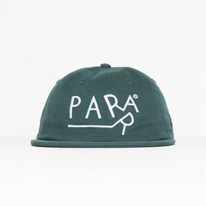BY PARRA 6 PANEL HAT DRAGGING MALLARD GREEN