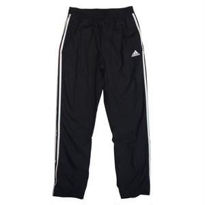 ADIDAS 3STRIPES WINDBREAKER PANTS BLACK