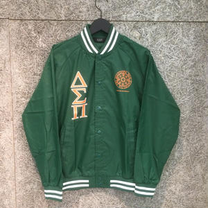 Diaspora Skateboards STADIUM JACKET GREEN