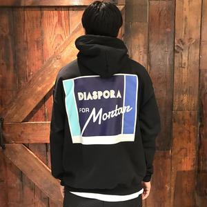 Diaspora Skateboards for MORTAR HOODED SWEAT BLACK