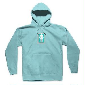 GIRL SKATEBOARDS UNBOXED PULLOVER HOODIE MINT