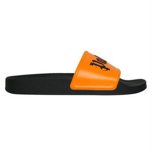 PALM  ANGELS  POOL SLIDER ORANGE/BLACK