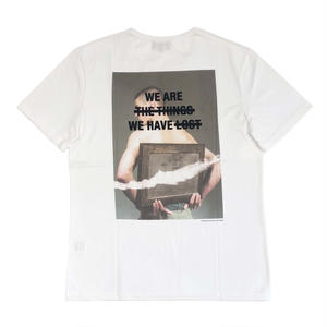 DUST LOST TEE WHITE