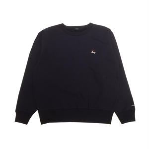 Diaspora Skateboards DET CREWNECK SWEAT NAVY