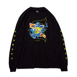 EVISEN SKATEBOARDS KILL PILL LONGSLEEVE BLACK