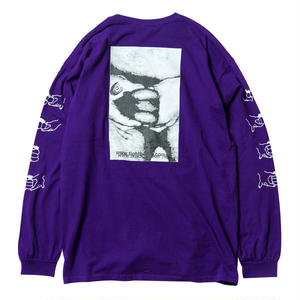TIGHTBOOTH PRODUCTION GOLDEN BURGER LS T-SHIRT PURPLE