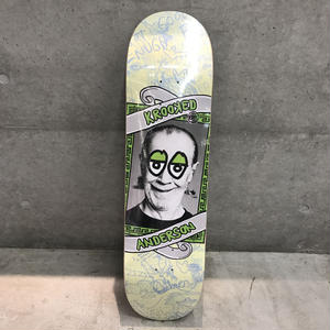 KROOKED SKATEBOARDS PERSONALITY KRISIS ANDERSON DECK 8.25inch