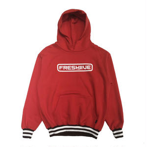FRESH JIVE COURT PULLOVER RED