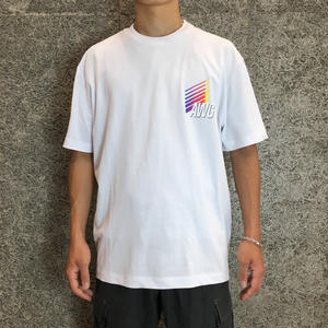 ALEXANDER WANG  AWG  SHORT SLEEVE   WHITE