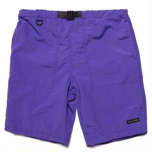 RAISED BY WOLVES FITZROY BELTED SHORTS PURPLE