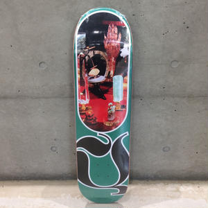 QUASI SKATEBOARDS CHAKRA DECK GREEN  8.25inch