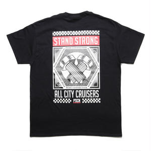 PSCN STAND STRONG BOLTS T-SHIRT BLACK