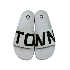 TOWN SLIPPER SLIDE SANDAL WHITE