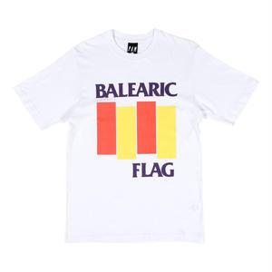 P.A.M BALEARIC FLAG T-SHIRTS WHITE