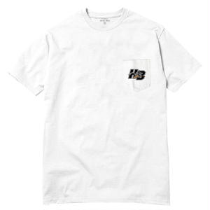 HOTEL BLUE KILLER POCKET TEE WHITE