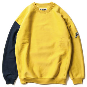 TIGHTBOOTH PRODUCTION CYBORG CREW SWEAT YELLOW