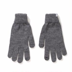 NORSE PROJECTS PURE WOOL GLOVE GREY