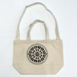 MORTAR ORIGINAL CANVAS SHOULDER BAG OFFWHITE