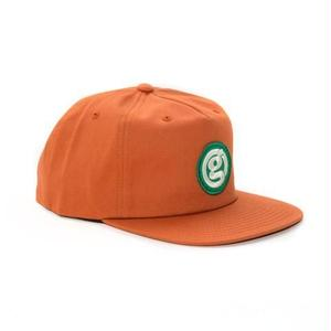 GIRL SKATEBOARDS CIRCLE G CAP ORANGE