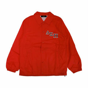 DIASPORA SKATEBOARDS OUTLINE MAGIC CIRCLE COACH JACKET RED
