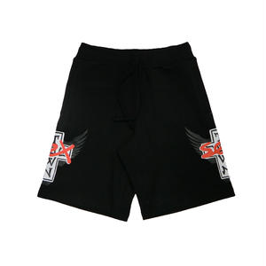 SEXTOWN TRACK SHORTS BLACK