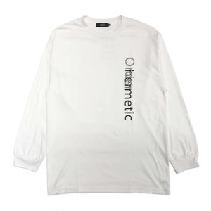 DIASPORA SKATEBOARDS RAW LIFE LS TEE WHITE