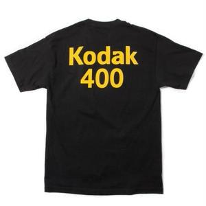 GIRL SKATEBOARDS X KODAK 400 TEE BLACK