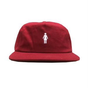 GIRL CANVAS CAP RED