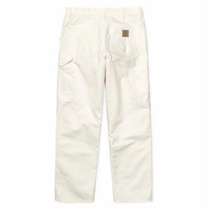 CARHARTT SINGLE KNEE PANTS WHITE