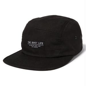 THE QUIET LIFE FOUNDATION 5 PANEL CAP BLACK