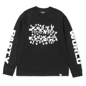 CARHARTT WIP WORLD PARTY LS TEE BLACK
