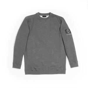 ÖCTAGON BADGE CREWNECK SWEATSHIRTS GREY