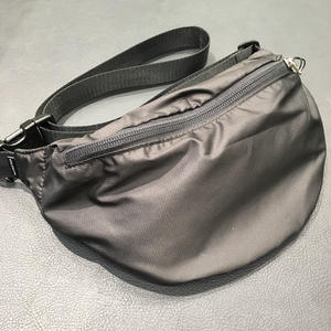 MAIDEN NOIR  RIPSTOP  SIDE BAG  BLACK