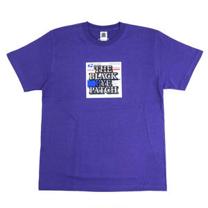 BLACK EYE PATCH  LABEL TEE  PURPLE