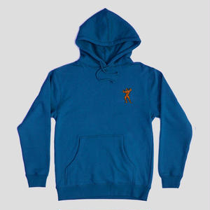 "PASS~PORT ""MORPHED"" HOODIE BLUE"