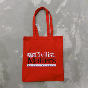 CIVILIST MATTERS BAG RED